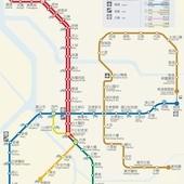 台北捷運, 行駛路網圖, 090704