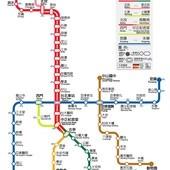 台北捷運, 行駛路網圖, 060513