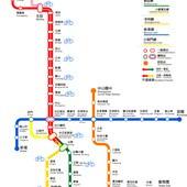 台北捷運, 行駛路網圖, 040929