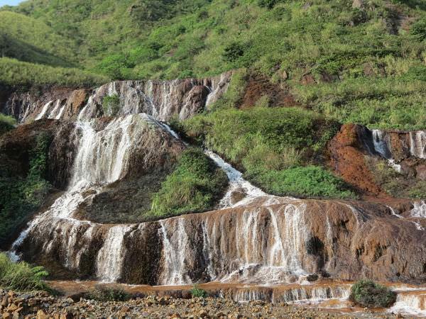 金瓜石, 黃金瀑布