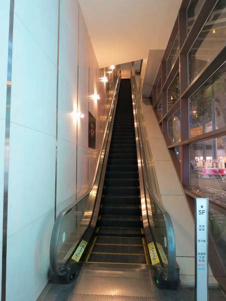 美麗華百樂園, 直達5F電扶梯