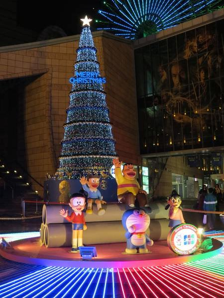 美麗華, 聖誕節, 2013年