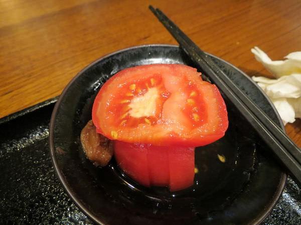 稻禾烏龍麵 誠品松菸店, 梅漬蕃茄
