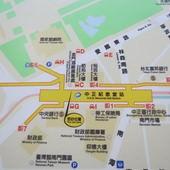 台北捷運, 紅線, 信義線, 中正紀念堂站, 位置圖