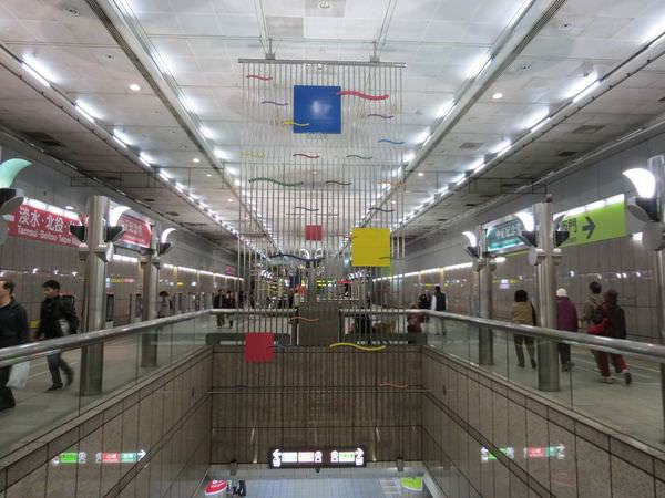 台北捷運, 紅線, 信義線, 中正紀念堂站, 公共藝術