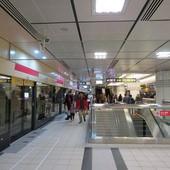 台北捷運, 紅線, 信義線, 東門站, 上層月台層