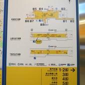 台北捷運, 紅線, 信義線, 東門站, 資訊圖