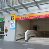 台北捷運, 紅線, 信義線, 東門站, 8號出口