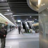 台北捷運, 紅線, 信義線, 大安站, 月台層