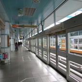 台北捷運, 棕線, 文湖線, 大安站, 月台層