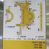 台北捷運, 紅線, 信義線, 大安森林公園站, 位置圖