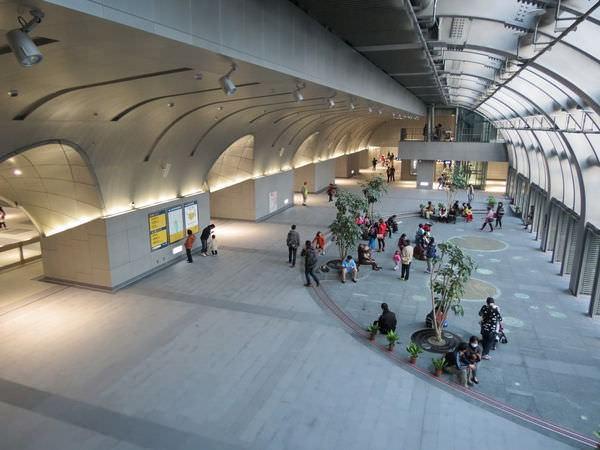 台北捷運, 紅線, 信義線, 大安森林公園站, 大廳