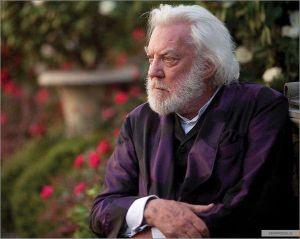 飢餓遊戲(The Hunger Games), Donald Sutherland