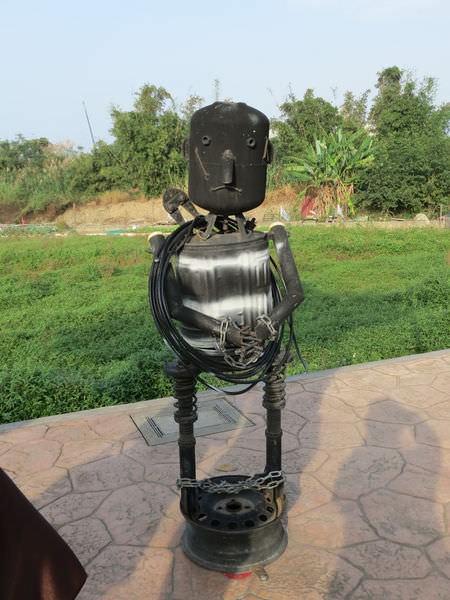 桃園地景廣場藝術節, 炳哥的機器人異想世界