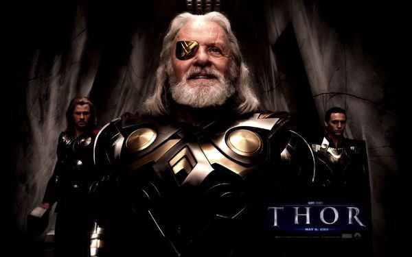 雷神索爾(thor), 安東尼霍普金斯 Anthony Hopkins