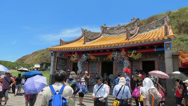 龜山島之旅, 普陀巖
