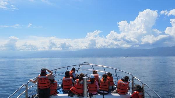 龜山島之旅, 龜山島外海