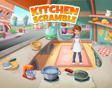 Kitchen Scramble, facebook games