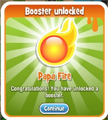 Papa Pear Saga, Papa fire