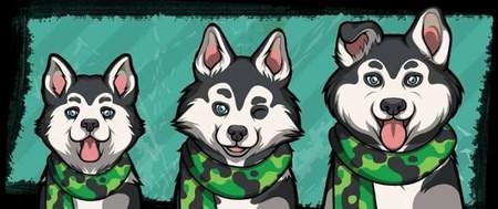 Criminal Case, 警犬商店, Husky