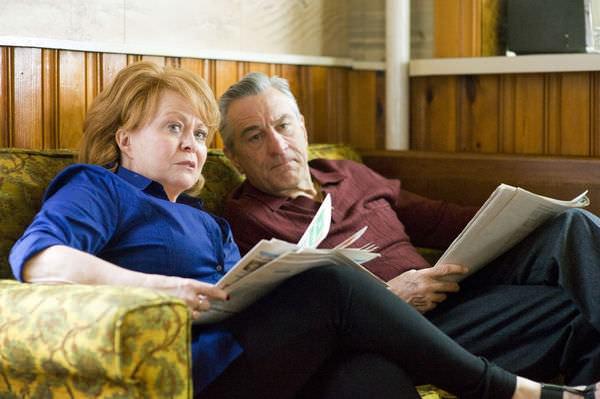 The Silver Linings Playbook, Robert De Niro & Jacki Weaver