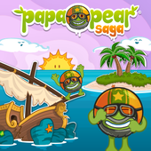 Papa Pear Saga, facebook games