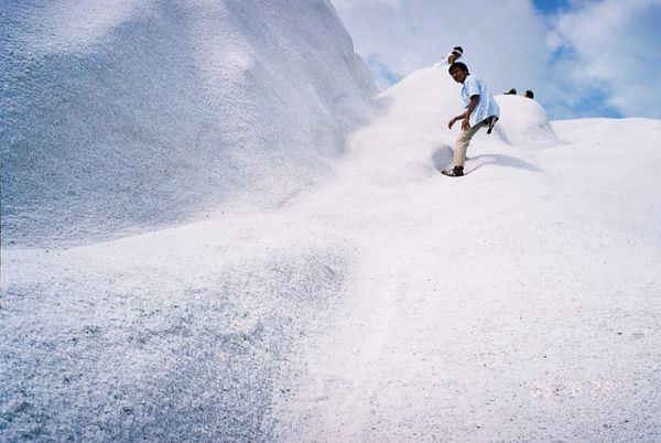 2005年環島, day3, 七股鹽山