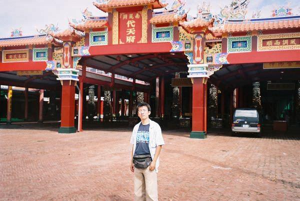 2005年環島, day3, 南鯤鯓代天府
