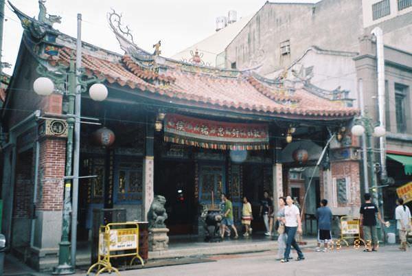 2005年環島, day2, 鹿港城隍廟