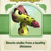 Plants vs. Zombies Adventures, Aspearagus