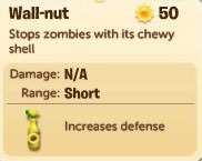 Plants vs. Zombies Adventures, Wall-nut