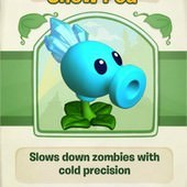 Plants vs. Zombies Adventures, Snow Pea