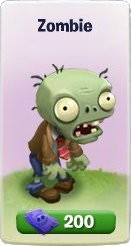 Plants vs. Zombies Adventures, Zombie