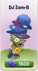 Plants vs. Zombies Adventures, DJ Zom-B