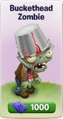 Plants vs. Zombies Adventures, Buckethead Zombie