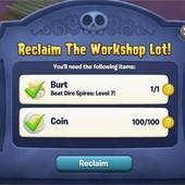 Plants vs. Zombies Adventures, The Workshop Lot