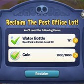 Plants vs. Zombies Adventures, The Post Office Lot