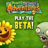 Plants vs. Zombies Adventures, Facebook games