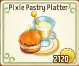 Royal Story, Pixie Pastry Platter