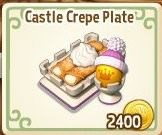 Royal Story, Castle Crepe Plate