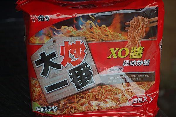 維力 大炒一番風味炒麵 XO醬 港式經典味