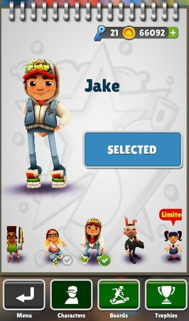 Subway Surfers, Characters