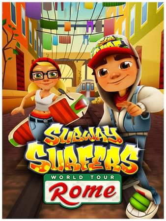 Subway Surfers, Rome