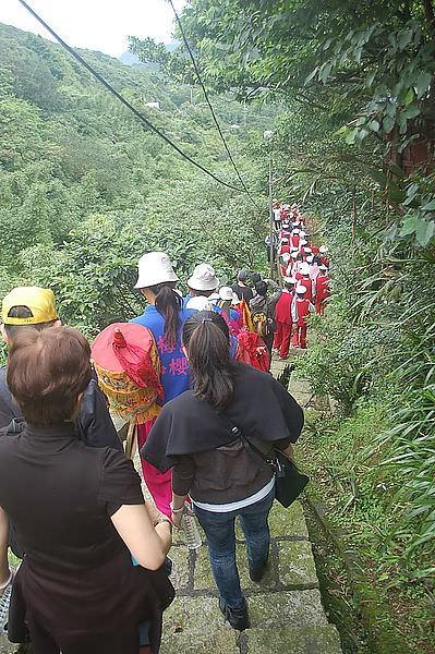 金瓜石媽祖繞境 2013