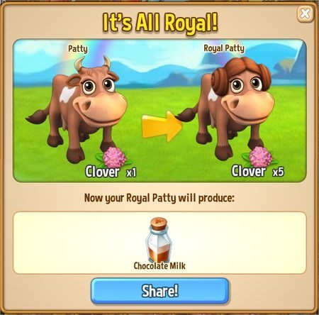 Royal Story, Royal Patty