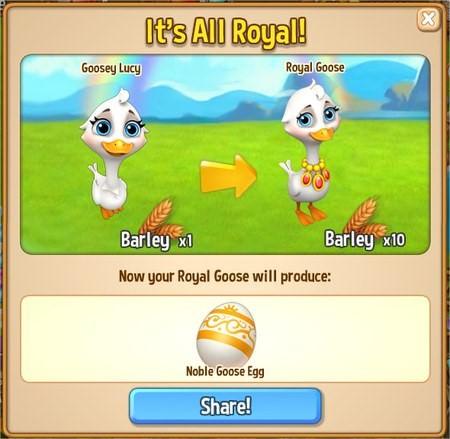 Royal Story, Royal Goose