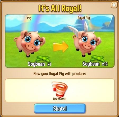 Royal Story, Royal Pig