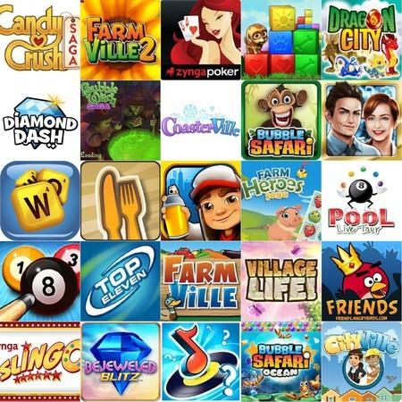 Facebook 最熱門的25個遊戲(2013年5月)