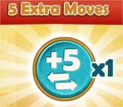Farm Heroes Saga, 5 Extra Moves