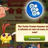 Farm Heroes Saga, Turbo Tractor booster
